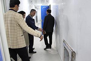 دکتر احمدی و دکتر حاج عباس ومهندس سالمی