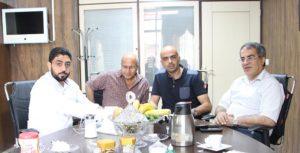جلسه نماینده سوریه با دکتر ذبیحی